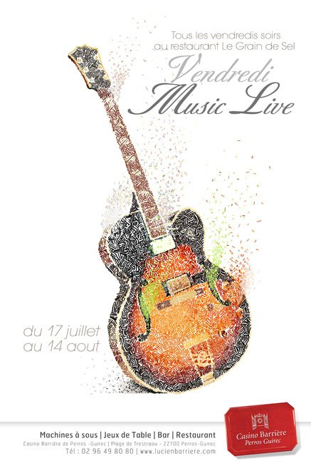 music live - affiche