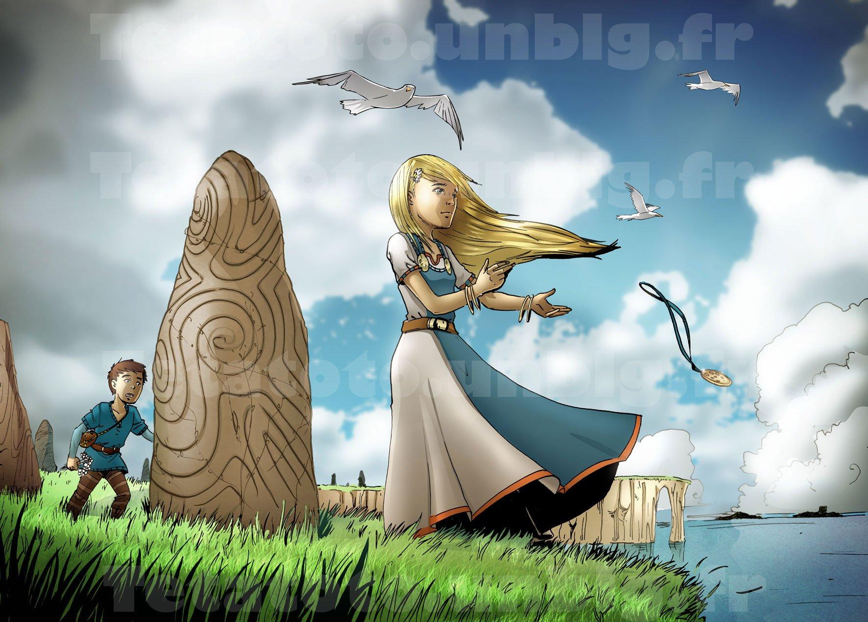 viking an 911 création de la normandie bd par greg et djoz la tetatoto