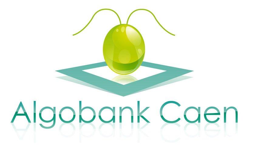 création d'un logo pour algo banque caen