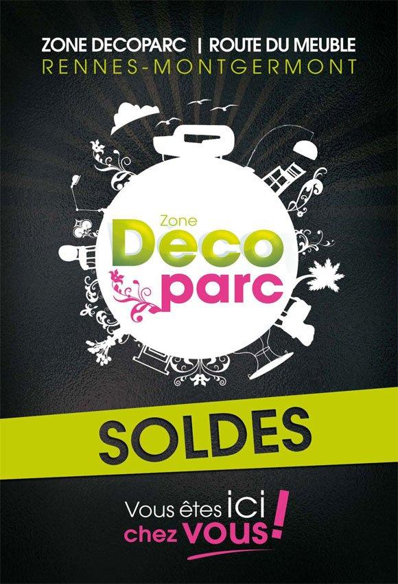 affiche pour une zone commerciale deco design