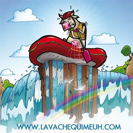 Rafting la vache